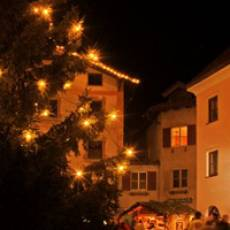 Alpine advent at Val Sarentino